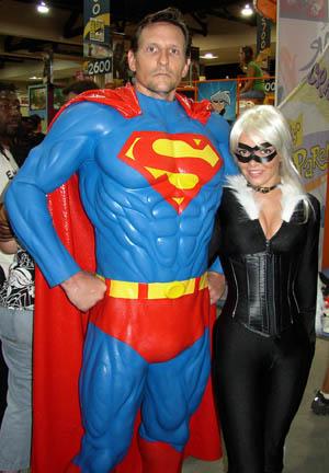 Costuming Comicon 2005 girls 1 For Batman Generic Superhero Cowl And